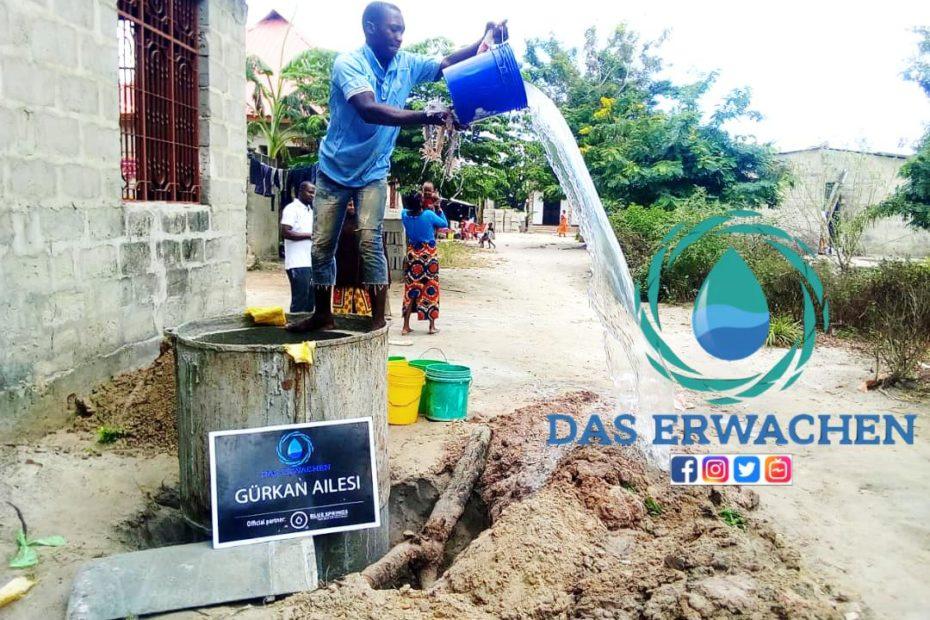 Dank des Filtersystems hat das Wasser nun Trinkwasserqualität