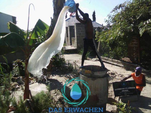 Ungefiltertes Trinkwasser sieht eher nach Seife als nach Wasser aus